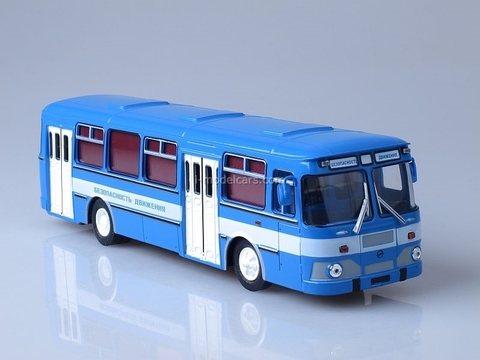 LIAZ-677M Traffic Safety Soviet Bus 1:43