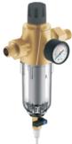 Фильтр Гейзер Бастион 7508075233 с обратной промывкой и манометром для холодной воды 3/4