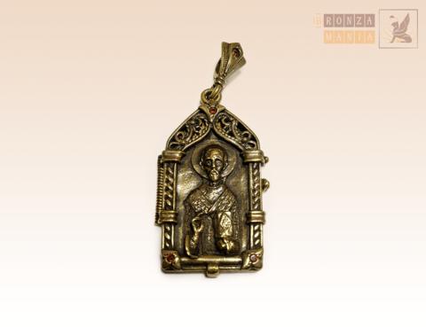брелок Ладанка Николай святой угодник