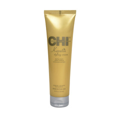 CHI Keratin Styling Cream - Крем для укладки с кератином для поврежденных ломких волос