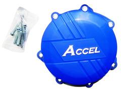 Защита крышки сцепления Accel YZ250F 14-16 WR250F 16 blue