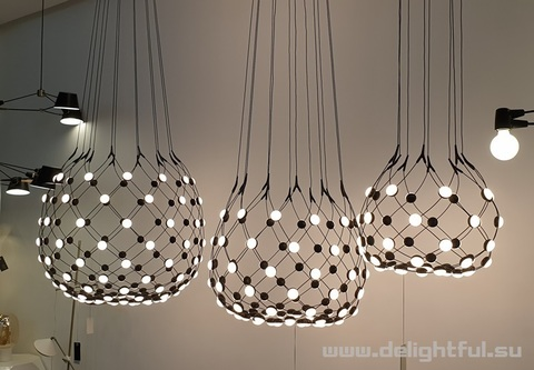 Mesh by Lucheplan replica chandelier