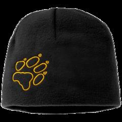 Шапка флисовая детская Jack Wolfskin Fleece Cap Kids black