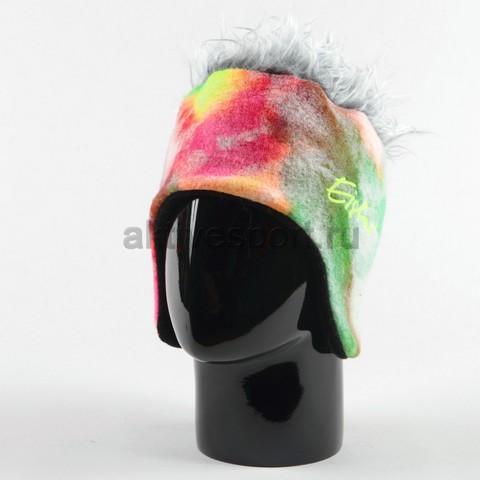 шапка с ушами Eisbar camo cocker