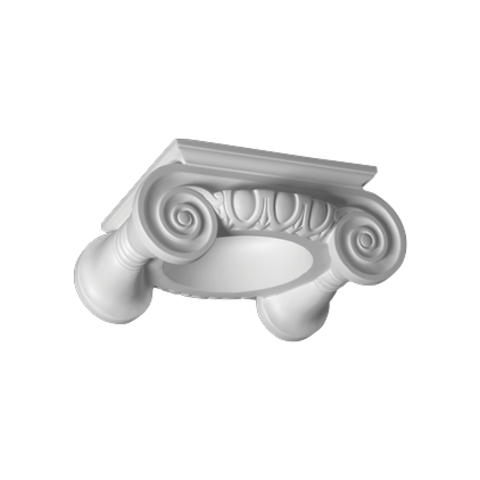 Капитель (колонна) Европласт из полиуретана 4.41.201, интернет магазин Волео