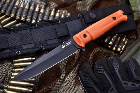 Тактический нож Delta AUS-8 B-Titanium OH