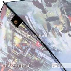 Зонтик-трость женский Lamberti лондонское кафе, полуавтомат