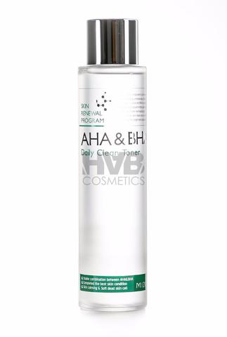Пилинг-тоник с кислотами AHA & BHA MIZON