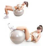Полумассажный мяч с одной стороны он имеет гладкую поверхность, а с...