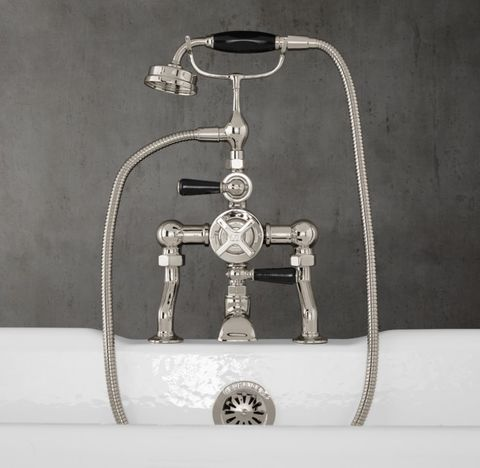 1930 Mackintosh Deck-Mount Exposed Thermostatic Tub Fill & Handheld Shower