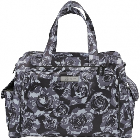 Дорожная сумка для мамы Ju-Ju-Be Be Prepared Black Petals