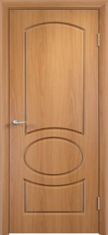 Дверь Сибирь Профиль Неаполь, цвет миланский орех, глухая