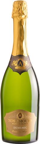 Вино А НОЗ АМУР Деми-сек 0,75 л игристое белое полусухое 11% Франция
