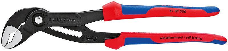 Клещи сантехнические Cobra 300мм Knipex KN-8702300