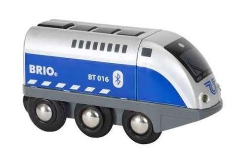 BRIO 33863 Паровозик,управляемый с мобильного приложения
