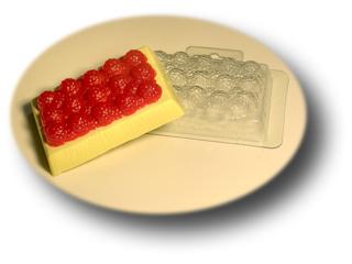 Ягодное пирожное, форма пластиковая
