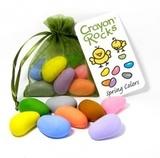 Мелки-камушки восковые Crayon Rocks (Крайон Рокс), набор 8 цветов