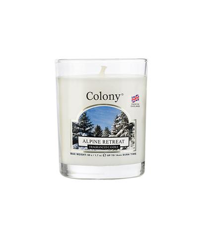 Свеча ароматическая лампадная Альпийский лес, Wax Lyrical