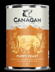 Влажный корм для щенков, CANAGAN, с курицей и говядиной