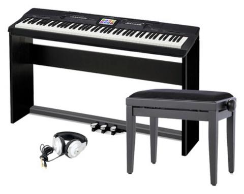 Цифровое пианино Casio PX-360 MBK Privia  (Полная комплектация)