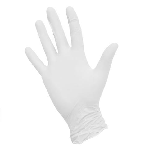Перчатки NitriMAX нитриловые белые S 50 пар