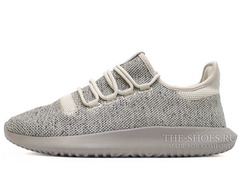 Кроссовки Мужские Adidas Tubular Shadow Knit Grey