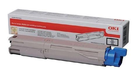 Голубой тонер-картридж для OKI MC853/MC873. Ресурс 7300 стр (45862839/45862851)