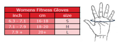 Женские перчатки Gorilla wear Women's Fitness Gloves