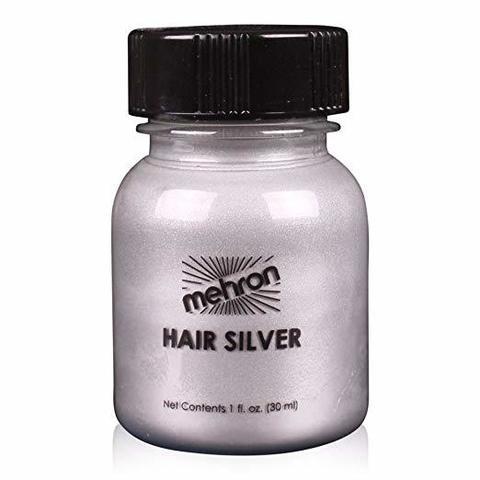 MEHRON Краска для волос, Серебристая, 30 мл