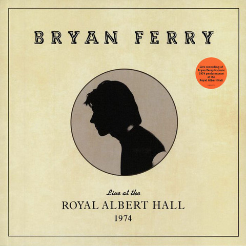 Bryan Ferry ‎/ Live At The Royal Albert Hall 1974 (LP)