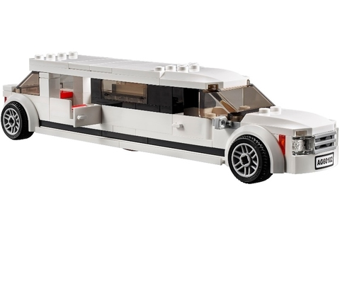 LEGO City: Служба аэропорта для VIP-клиентов 60102 — Private Jet And Limousine Airport VIP Service Building Kit — Лего Сити Город