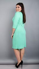 Тейлор. Красивое женское платье плюс сайз. Мята.