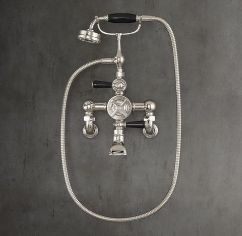 1930 Mackintosh Wall-Mount Exposed Thermostatic Tub Fill & Handheld Shower