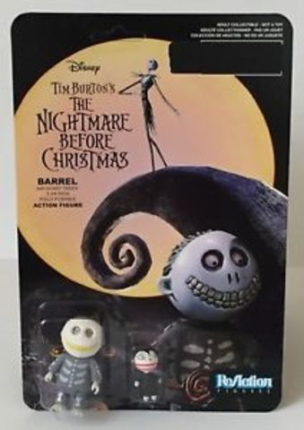 The Nightmare Before Christmas Barrel