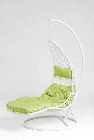 Подвесное кресло-шезлонг Vinotti Maddalena White