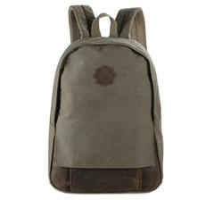 Рюкзак из ткани и кожи River 9004