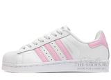 Кроссовки Женские Adidas SuperStar White Pink