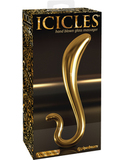 Pipedream Icicles Gold Edition G02 Фаллоимитатор золотой
