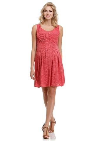 Платье для беременных 05651 розовый