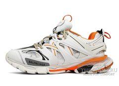 Кроссовки Balenciaga Track Trainer White Orange