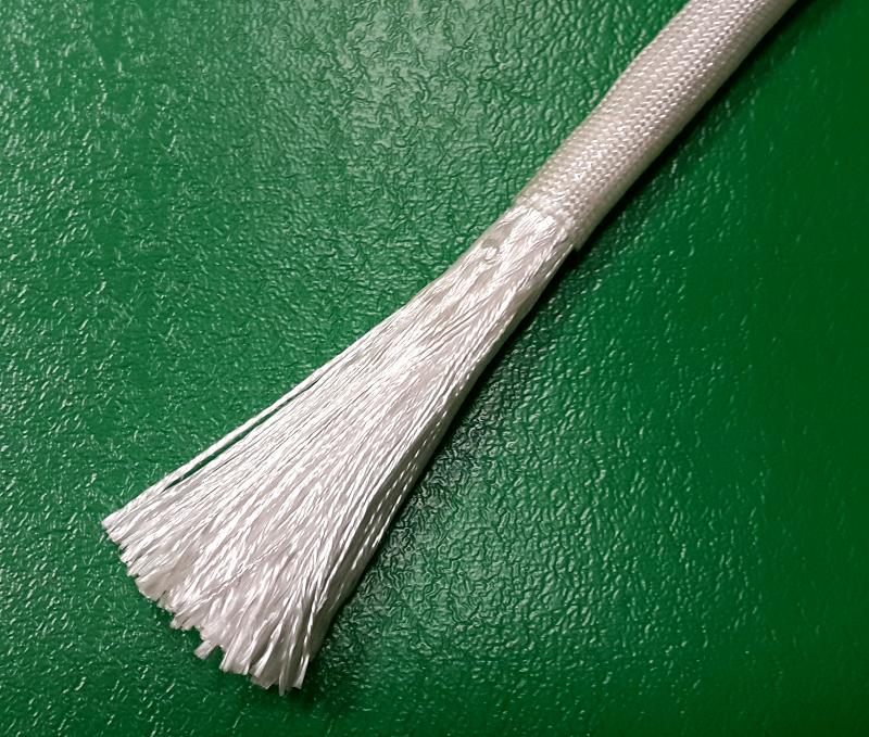 Шнур кремнеземный, наполненный кремнеземной нитью ШКН(Н) 1-10 мм