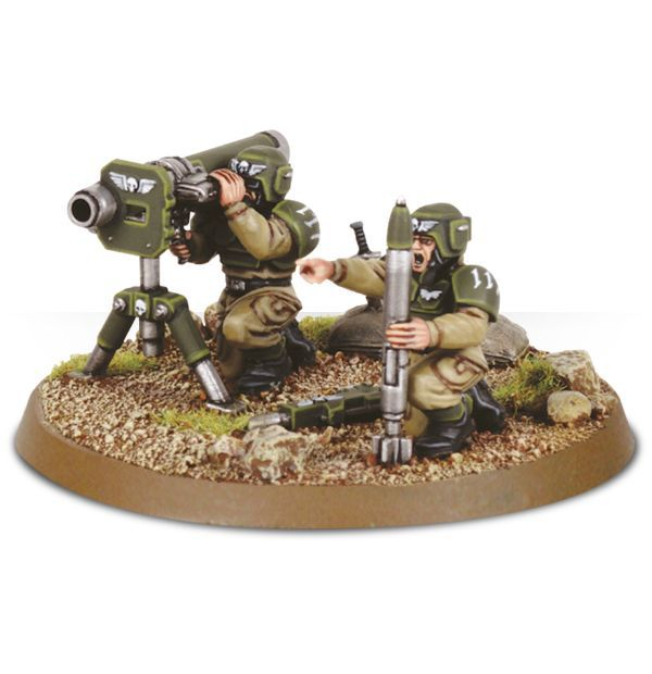 Cadian Heavy Weapon Squad.
