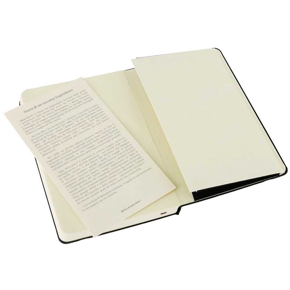 Блокнот Moleskine Classic Pocket, цвет черный, в линейку