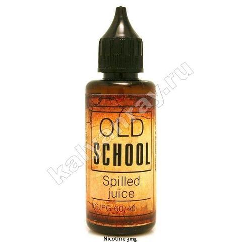 Жидкость OLD SCHOOL - Spilled Juice 3 мг никотина