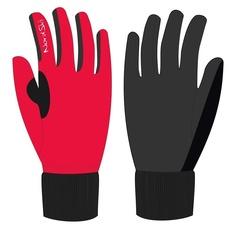 Лыжные перчатки NordSki Warm NSV134900 красные