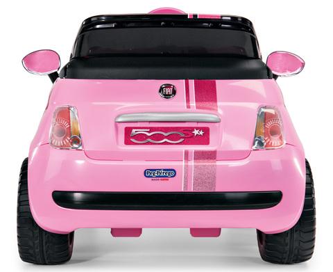 Детский электромобиль Peg Perego FIAT 500 Star ED1172 розовый