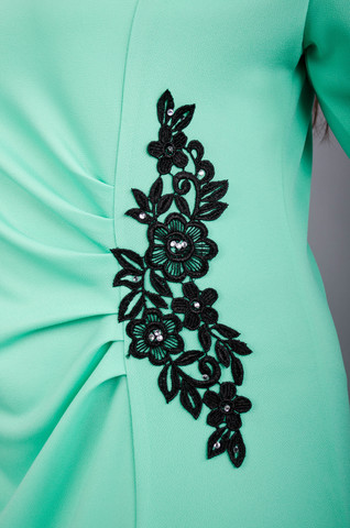Тейлор. Гарна жіноча сукня плюс сайз. М ята. - купить по выгодной ... f138a041830a5