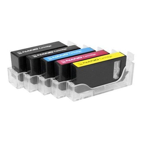 Комплект НАНО-картриджей BURSTEN NANO 1 для принтеров CANON (PGI-425/CLI-426) x 5 шт.