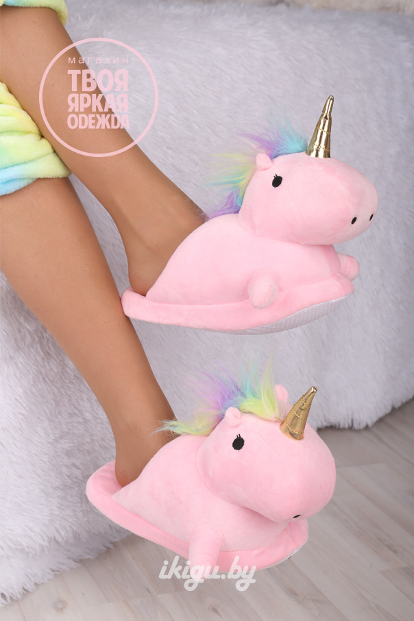 Тапочки Тапочки Unicorn Розовые unicorn_roz.jpg