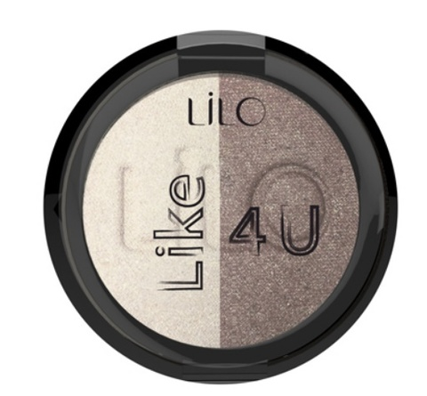 Lilo Тени для век компактные LiLo LIKE 4U тон 101 Honey Moon
